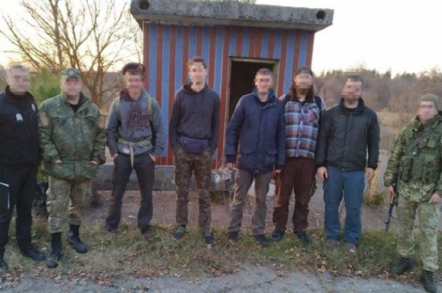 В зоне отчуждения Чернобыльской АЭС пограничники задержали пять сталкеров