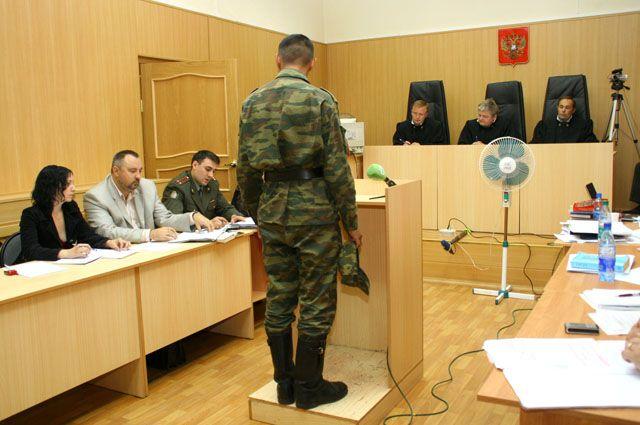 Слушается дело Андрея Сычёва, перед судом — обвиняемые в издевательствах над рядовым.
