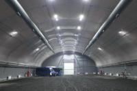 В Надыме появился первый ангар для газомоторного пассажирского транспорта