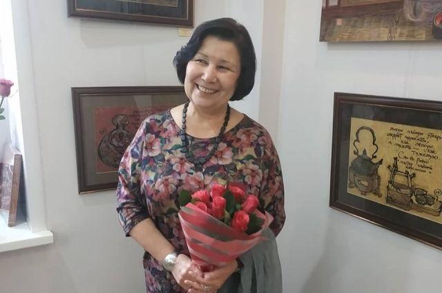 Художница Елена Волкова.
