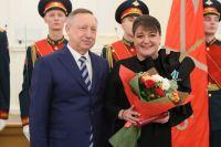 Александр Беглов и Анастасия Мельникова.