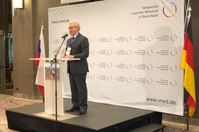 На пленарном заседании губернатор презентовал потенциал Красноярского края.