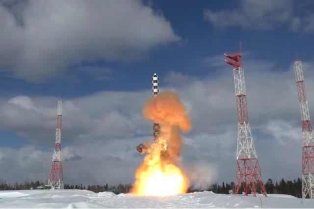 В 2020 году в Красноярском крае запустят ракету РС-28 «Сармат»