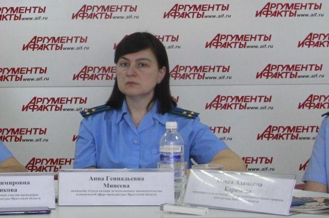 Анна Минеева.