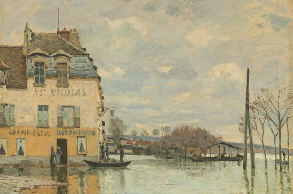 Наводнение в Порт-Марли. 1876.