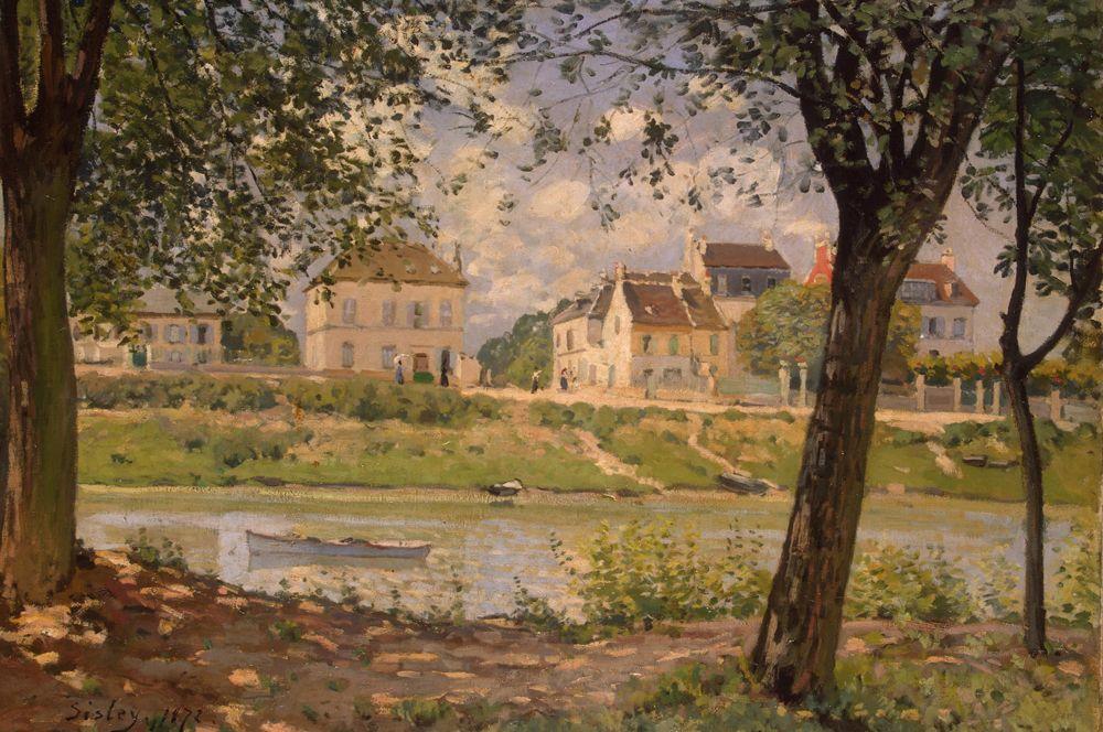 Городок Вильнёв-ла-Гаренн. 1872.