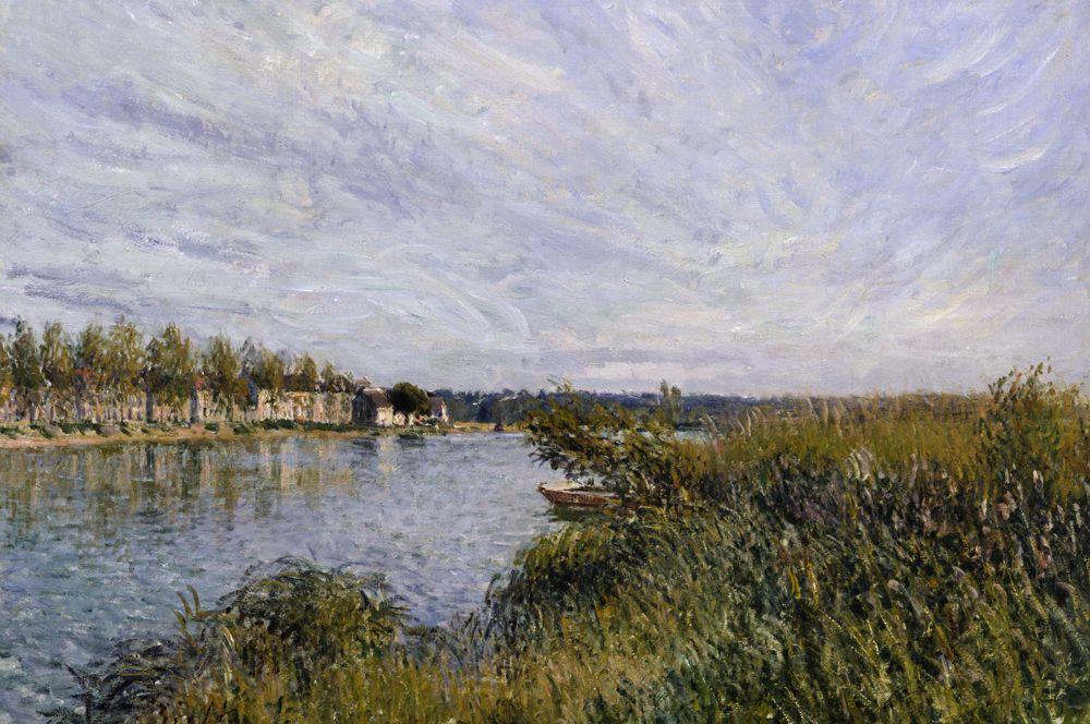 Вид на Сен-Мамес. 1880.