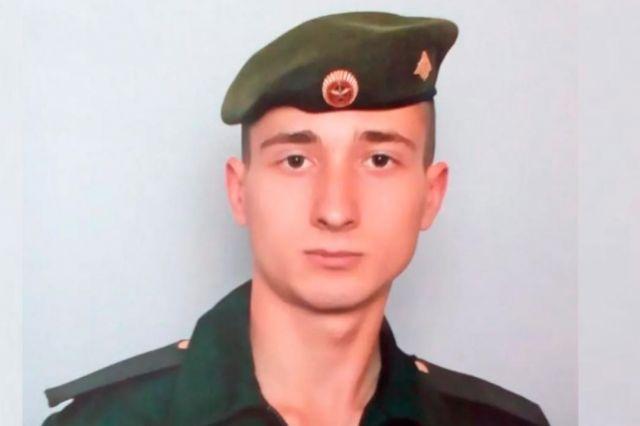 Погибший Артем Никишин.