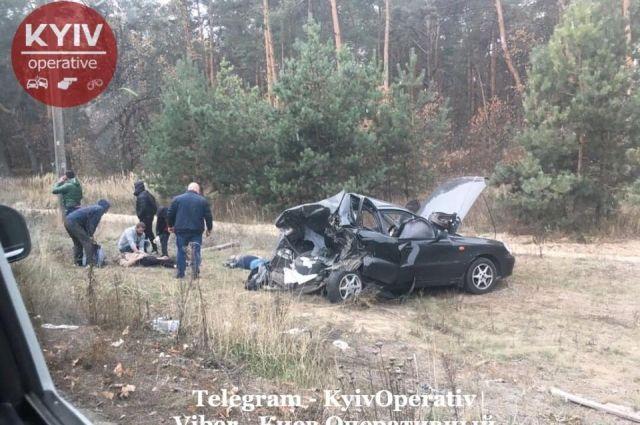 «На бешеной скорости»: в Киеве произошло смертельное ДТП