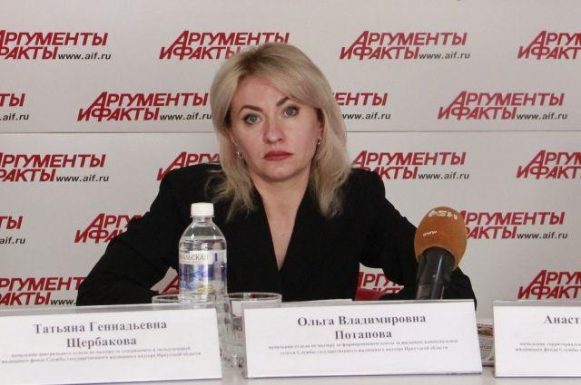 Ольга Потапова.