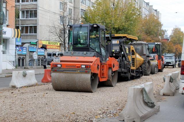 На прошлой неделе на улице Горького в Твери активно вели дорожные работы. Сейчас они уже завершены.
