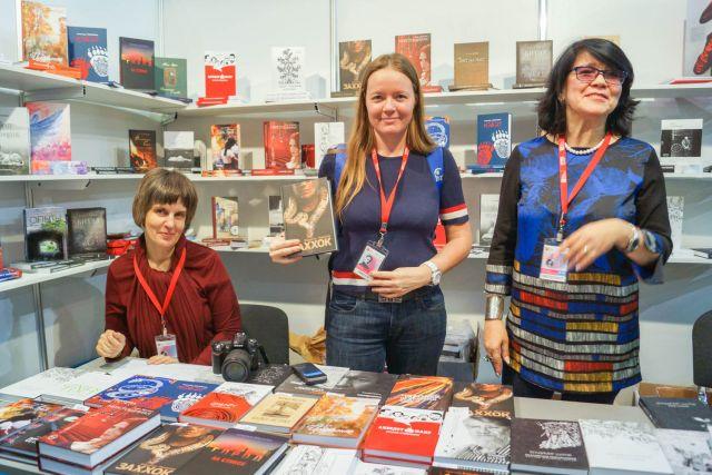 Красноярская книжная ярмарка продлится до 4 ноября.