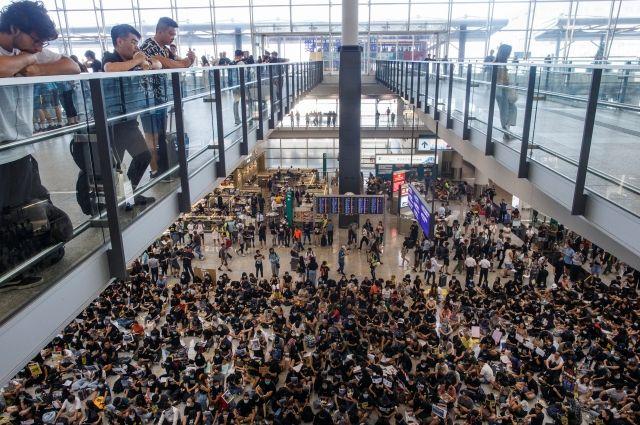 В Гонконге экономический спад превзошел прогнозы экспертов