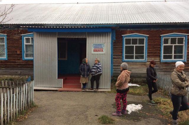 Большетихинская начальная школа.