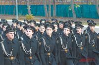 Кадеты старших классов завоевали право пройтись по брусчатке сердца страны.