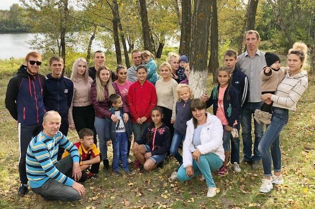 Большая семья Валиевых-Вервельских.