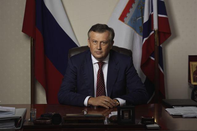 Александру Дрозденко исполнилось 55 лет.