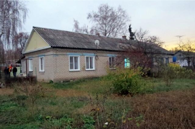 Дом в поселке Солидарность, где произошло убийство.