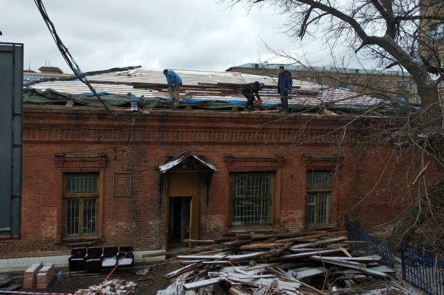 После реставрации здание получит новую кровлю, фасад и внутреннюю отделку.