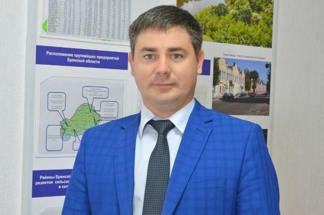 Директор департамента экономического развития Брянской области Михаил Ерохин.