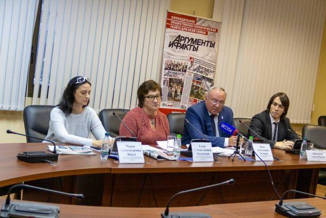 Участники пресс-конференции обсудили проблемы паллиативной медицины.