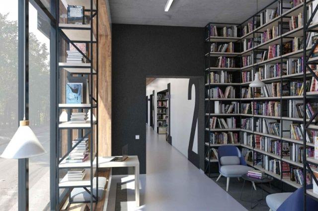 Так будут выглядеть модельные библиотеки