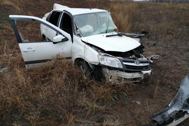 На трассе «Оренбург-Беляевка» в ДТП пострадали 3 человека