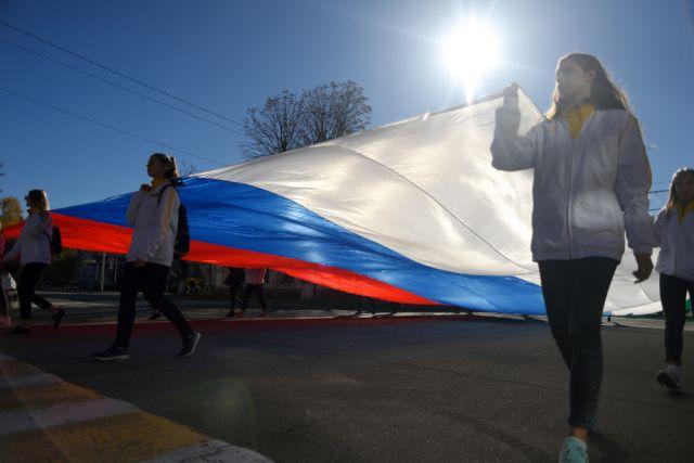 В Красноярске в полдень 4 ноября на Театральной площади начнут работу различные площадки