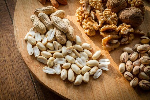 Орехи обладают высокой пищевой ценностью.