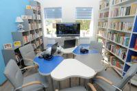 В современных библиотеках даже дизайн необычный.