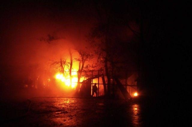 В Ровно произошел пожар в ресторане: детали происшествия