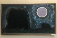 Картина «Два дерева» молодого художника Глеба Иваний, несмотря на «простоту», впечатлила организаторов выставки.