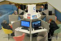 Компьютеры свободного доступа пригодятся, когда надо отредактировать резюме или посмотреть банк вакансий.
