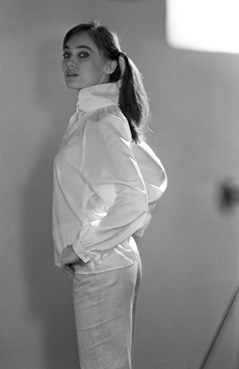 Актриса Лариса Гузеева, 1982 год.
