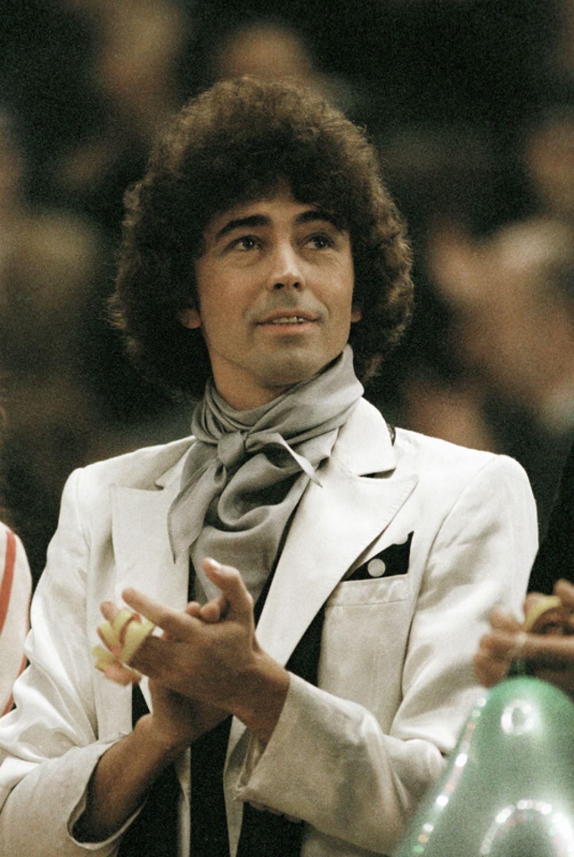 Певец Валерий Леонтьев, 1982 год.