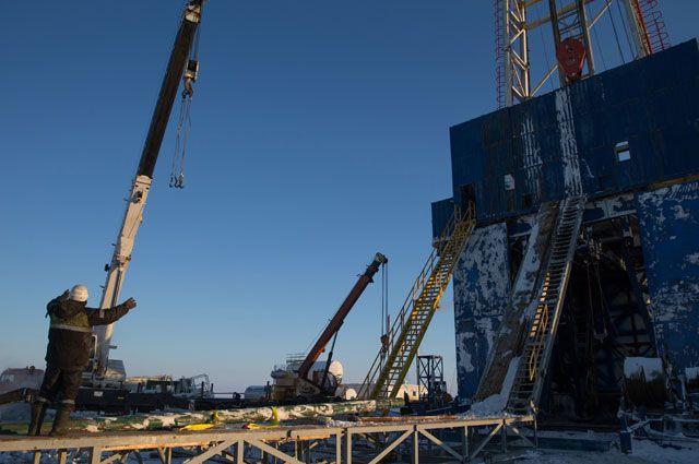 Нефтяная компания «Роснефть» приступила кбурению самой северной нароссийском арктическом шельфе скважины «Центрально-Ольгинская-1».