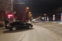 Вечернее столкновение на улице Станиславского.