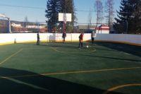 Новая спортивная площадка в Горячем Ключе не пустует даже ранним утром.