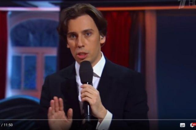 Галкин записал в Ижевске юмористическое видео о подарке от Киркорова