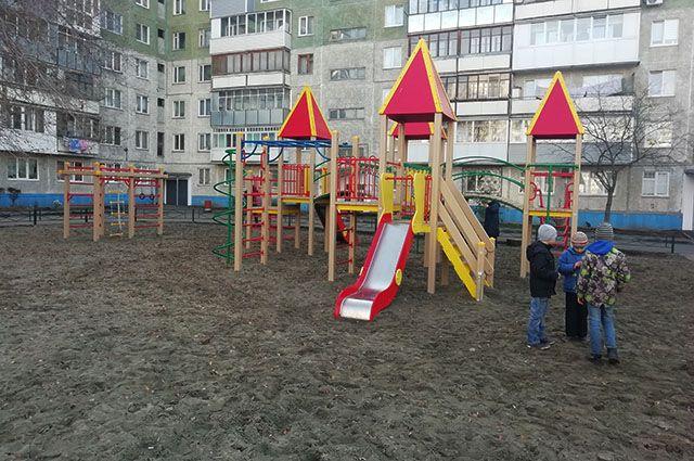 Один из отремонтированных дворов
