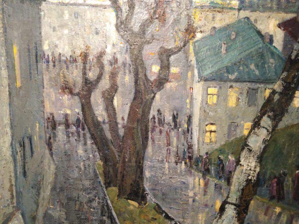 Художников привлекало живописное место, где расположен дом - рядом с Черным озером..