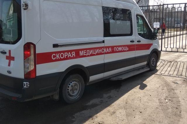 Студента доставили в тяжёлом состоянии в больницу.