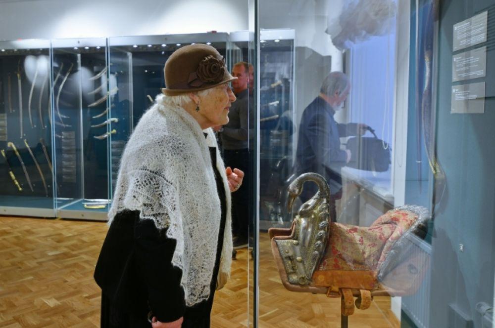 Выставка, посвящённая оружейным традициям Ближнего Востока.