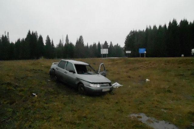 Пьяный водитель ВАЗа устроил ДТП в Алнашском районе