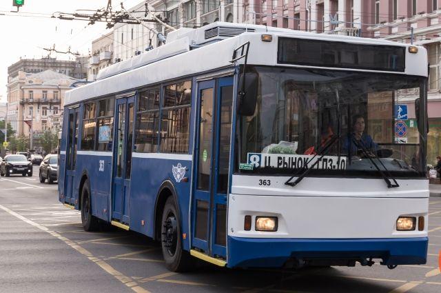Такой троллейбус уже был передан из Москвы в Ростов-на-Дону в 2018 году.