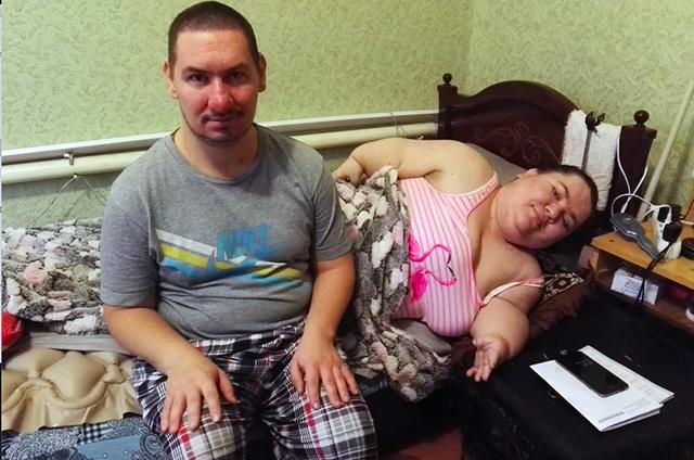Нина Белокопытова и его друг Александр - оба инвалиды
