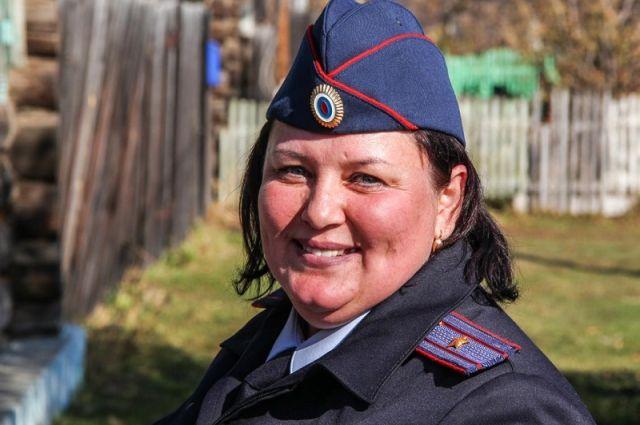 Светлана с детсвта мечтала стать полицейским, и пошла по стопам отца.