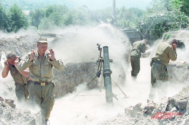 Первая чеченская кампания началась в 1994 году
