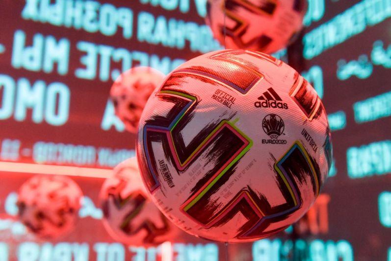 Официальный мяч чемпионата Европы по футболу 2020 Adidas Uniforia.