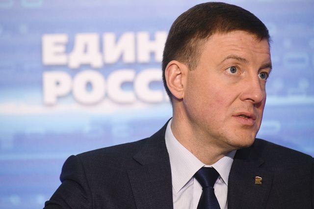 Секретарь Генерального совета «Единой России», вице-спикер Совета Федерации РФ Андрей Турчак.
